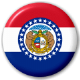 Missouri State Flag 25mm Pin Button Badge